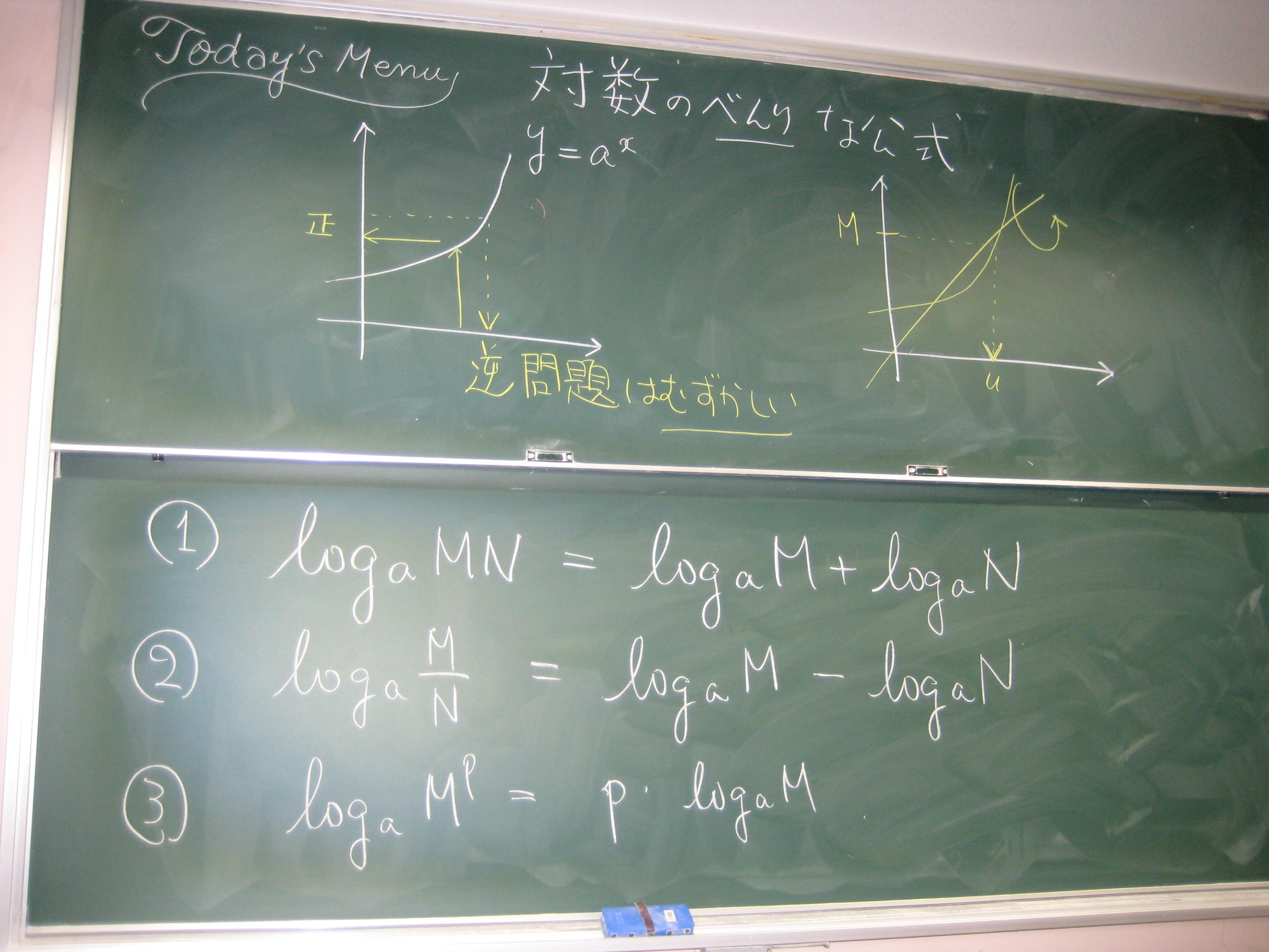 ... 数学 II(経済クラス) 授業 : 数学 プリント : プリント